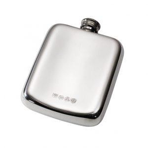 Personalised Celtic Knot 4 oz Pewter Pocket Hip Flask