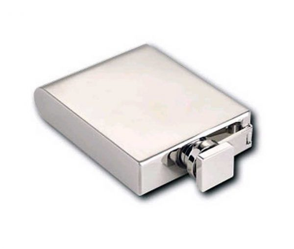 Art Deco 5oz Engraved Hip Flask with Free Engraving