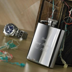 3oz Engraved Hip Flask with Free Engraving